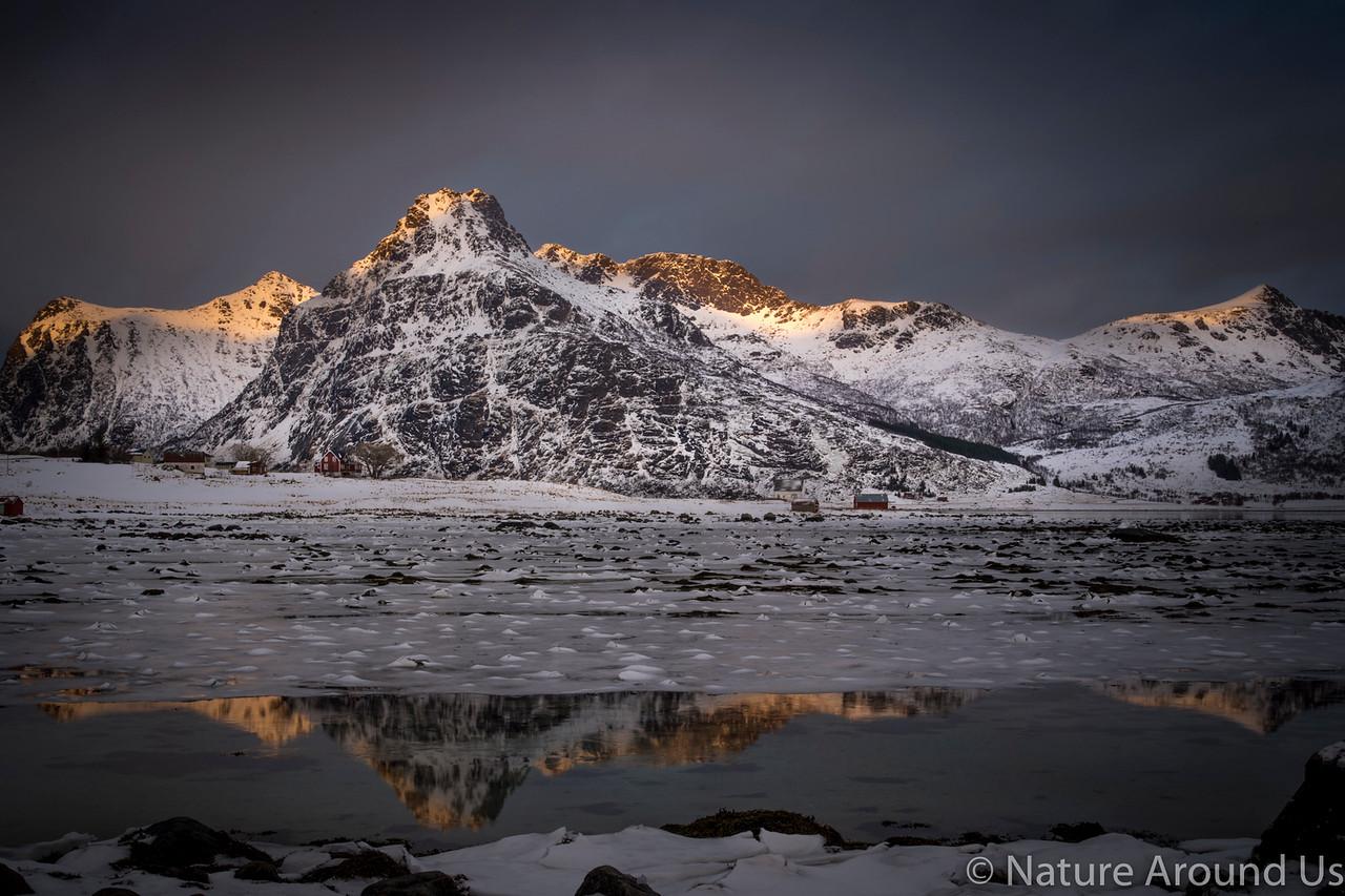 Last light - Lofoten islands