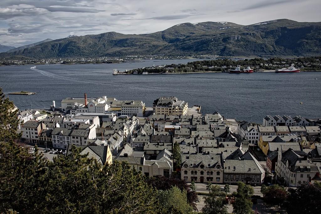 Alesund - Rooftops