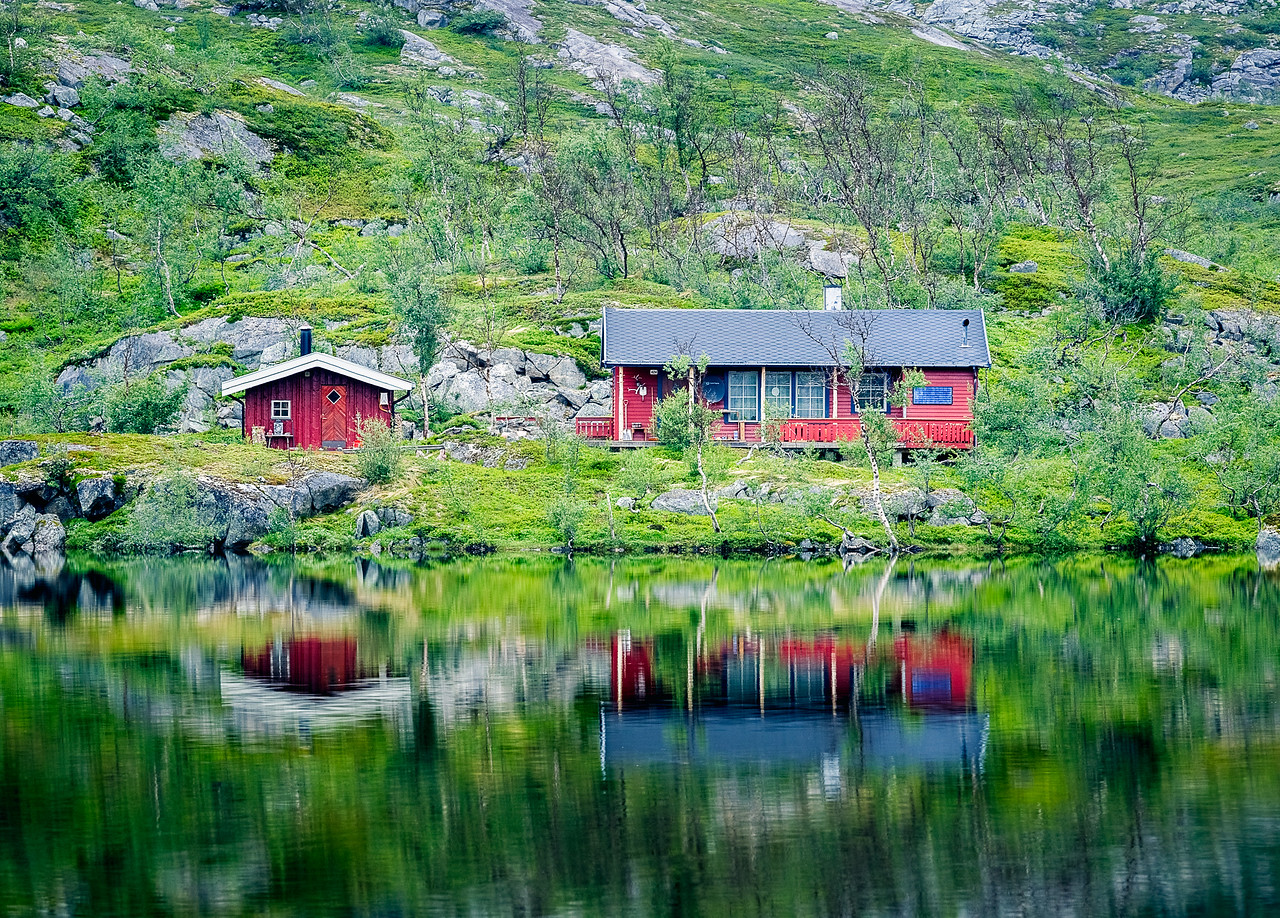 Cabin Reflections 2