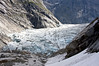 Jostedalsbreen National Park Norway. Brenndalsbreen which is an extension of a much larger glacier.