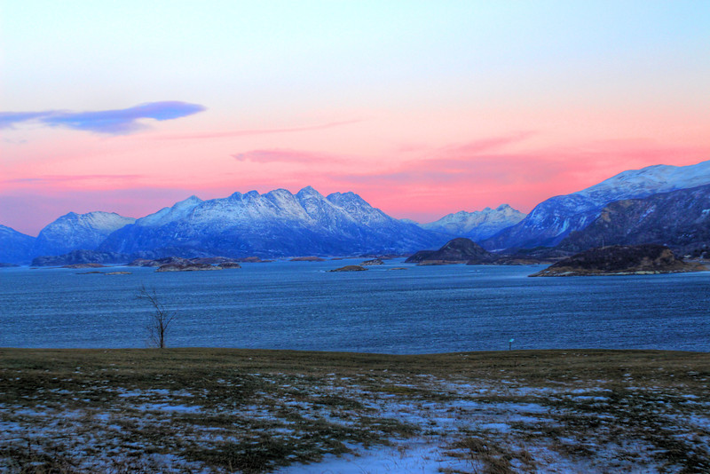 View from Bratten Activity Park, Bodø