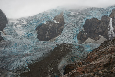 The Buerbreen glacier