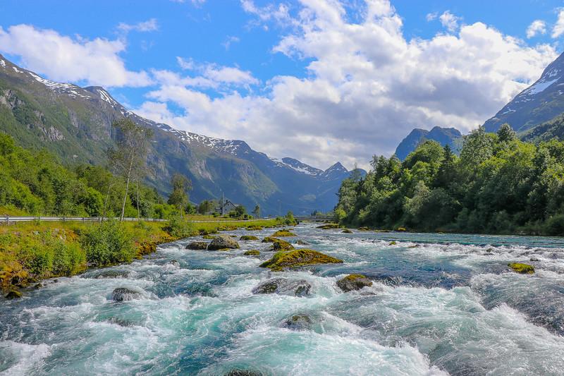 A River Through The Fjord