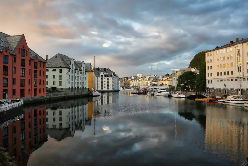 Alesund Reflections - 0002