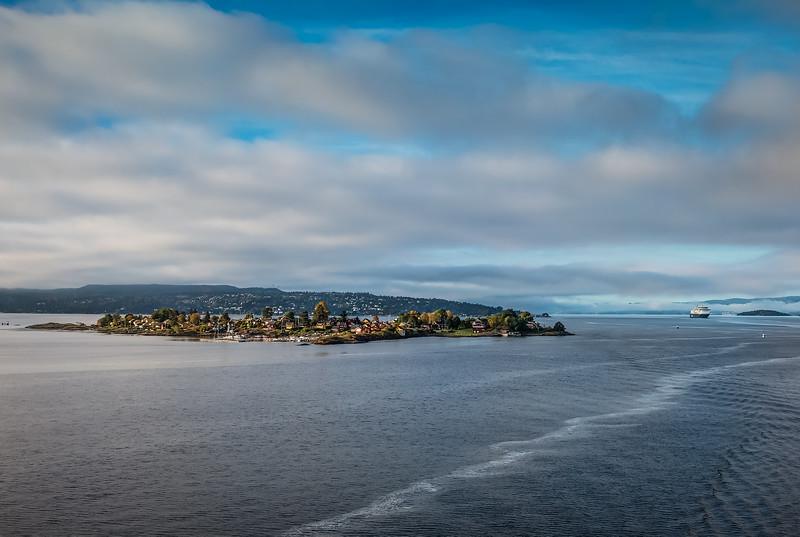 Ferry into Oslo