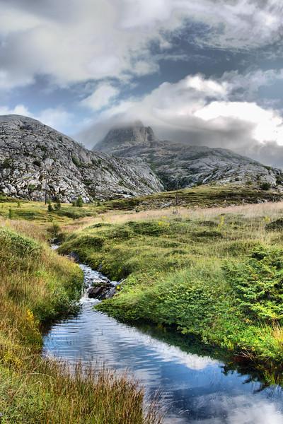 Gjura Mountain, Landegode, Norway