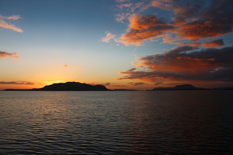 Sunset over Norway