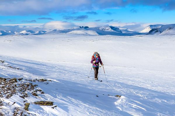 Ski touring, Arctic Norway