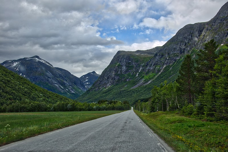 The roads of Norway