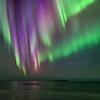 Aurora Curtain Ocean Display