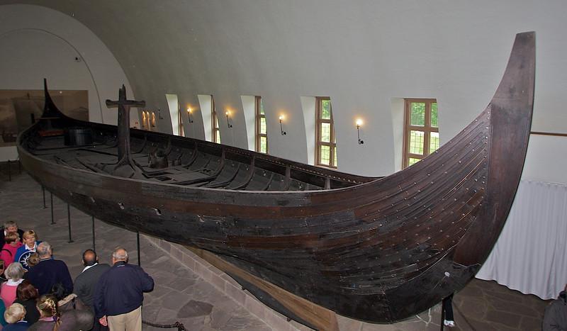 """The Gokstad Ship. <a href=""""http://en.wikipedia.org/wiki/Gokstad_ship"""">http://en.wikipedia.org/wiki/Gokstad_ship</a>"""