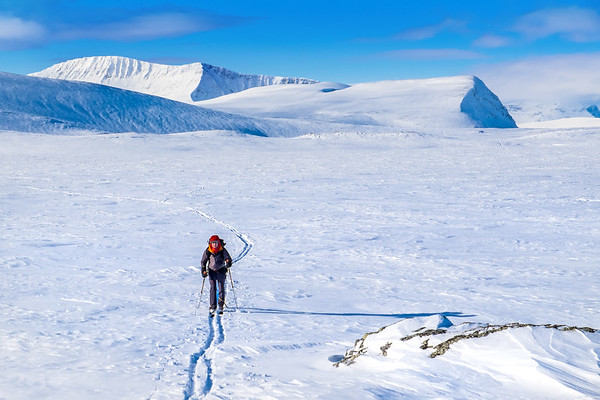 On the Troms Border Trail, norway