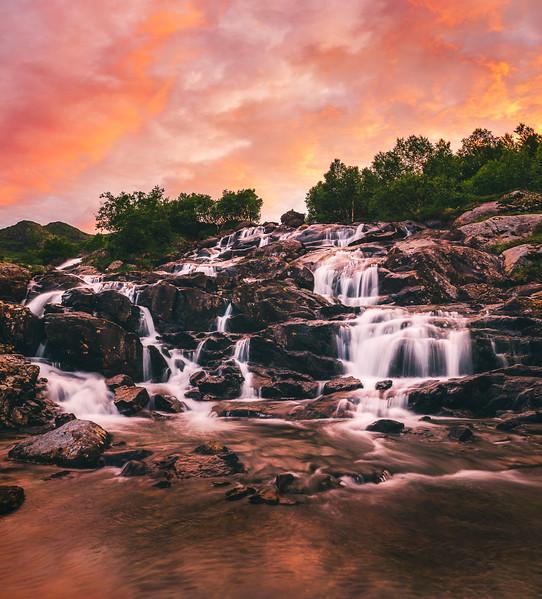 Lofoten Waterfall 2