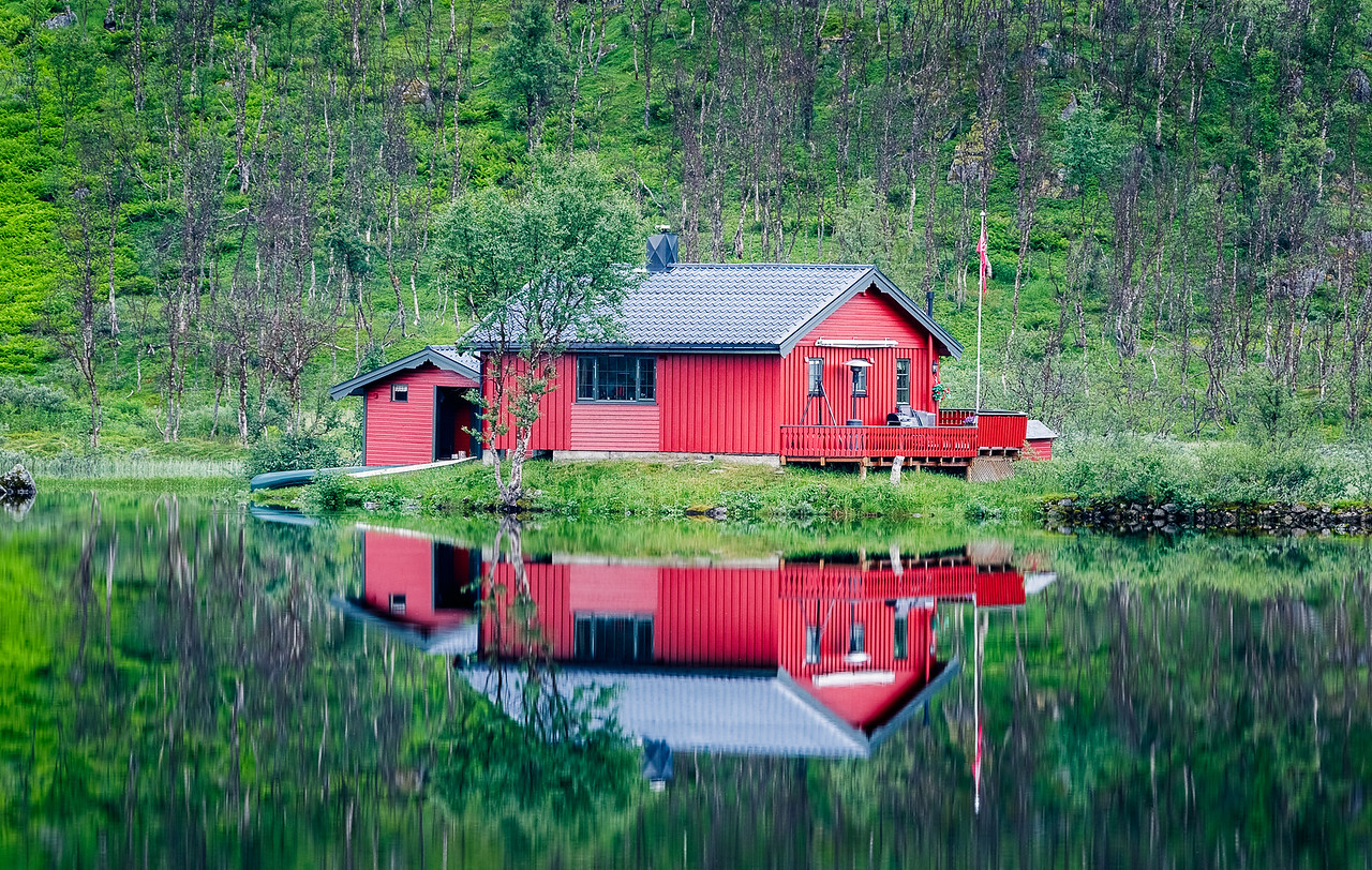 Cabin Reflections