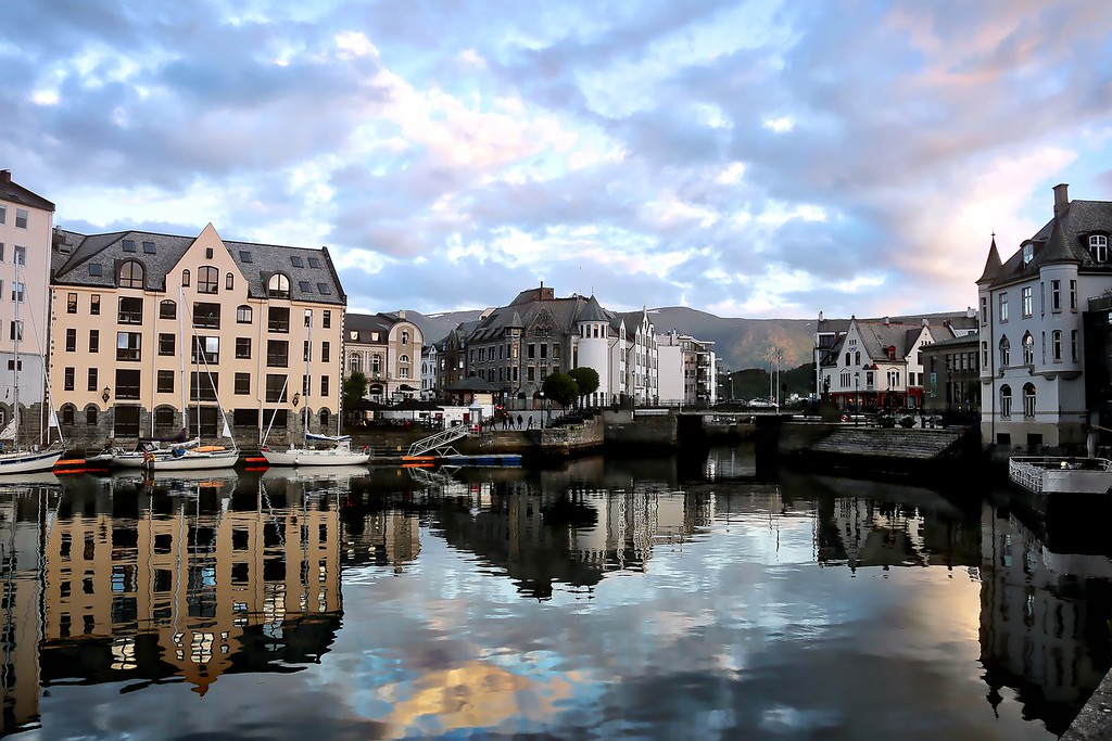 Alesund - Reflections 1