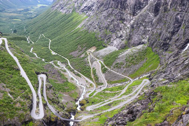 Journey Up Trollstigen
