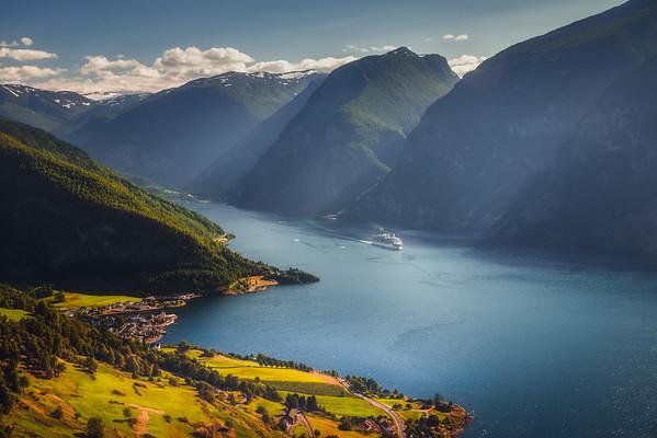 Aurlandsvangen View