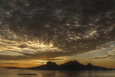 Sunset over Landegode