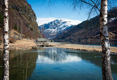 View across the lake, Flam, Norway