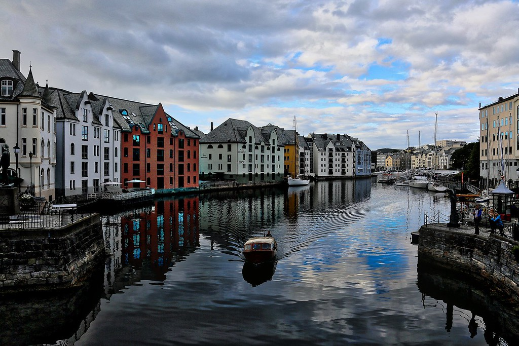 Alesund - Evening