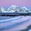 Storsandnes Beach Twilight