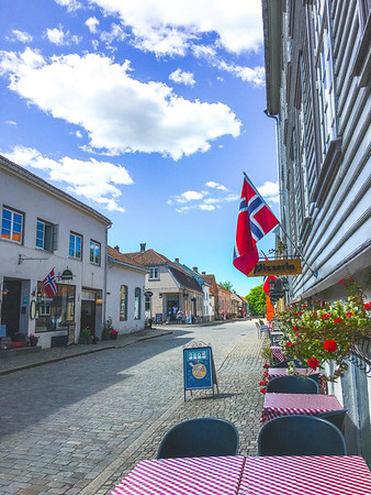 Red in Fredrikstad