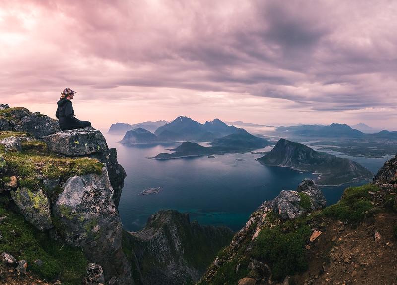 Norway Mountain Sunset 3