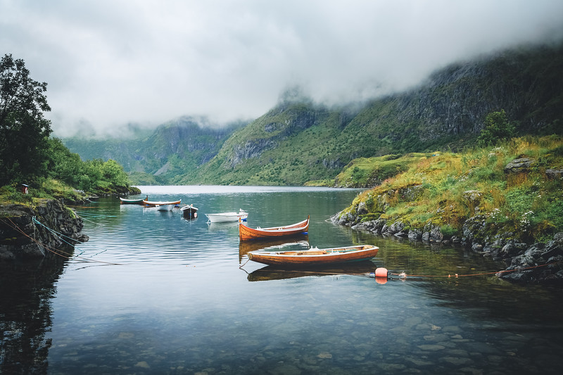 Boats in Norway