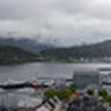 Panorama of Alesund from the top