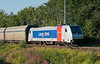 RailPool 185-683, on lease to CargoLink, pulls away from Marienborg on 13 August 2012