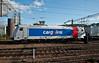 CargoLink 185-683 passes  Lillestrom on 14 August 2012