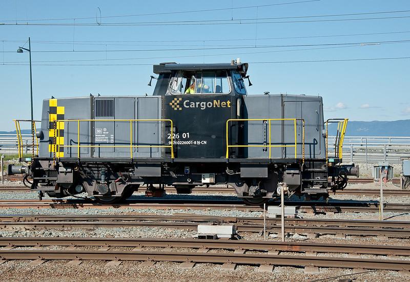CargoNet 226.01 at Trondheim on 13 August 2012