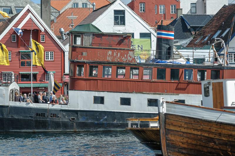 Die Jøsenfjord im Hintergrund wurde kürzlich in Holland wiederentdeckt. Da wartet noch viel Arbeit auf die Enthusiasten.