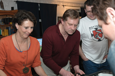 Das neue Königspaar: König Rupert und Königin Anina.