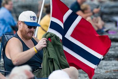 Dieser Norweger war gut vorbereitet.