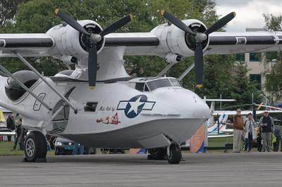 Die Catalina war eins der schönsten Flugzeuge auf der Flugshow.