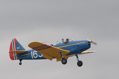 Eine PT-19 Cornell aus dem 2. Weltkrieg.