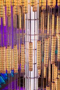 Norwegian Breakaway Atrium chandelier