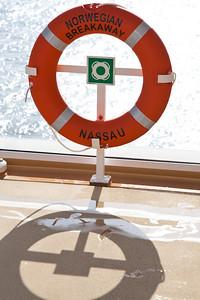 Norwegian Breakaway sun deck