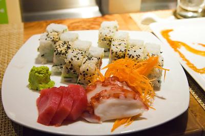 Norwegian Breakaway Wasabi sushi restaurant
