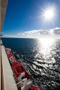 Norwegian Breakaway balcony view