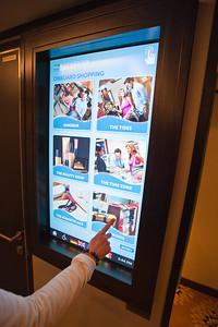 Norwegian Breakaway touch screen assistant