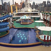 The ships main pool area and all new slide