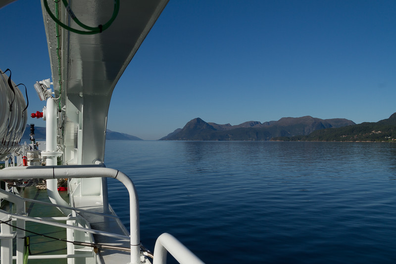 Ferry from Molde to Vestnes