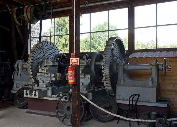 1853 Parr, Curtis & Madeley wheel lathe, Norwegian Railway Museum, Hamar, 20 July 2015 1.