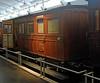 Royal coach, Norwegian Railway Museum, Hamar, 20 July 2015 1.  Built in 1862 in Birmingham by Wright & Sons for the Norwegian Trunk Railway between Lillestrom and Kongsvinger.