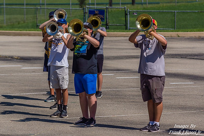 8-8-2017 Norwin Band Camp Day 7