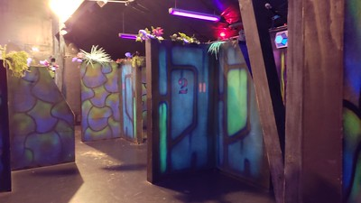 Lazer Tag Room