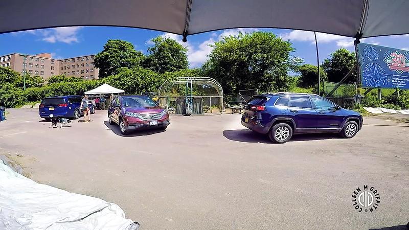 Standard Sample Video, Saturday NW3, Vehicles, Camera Angle 2 of 3