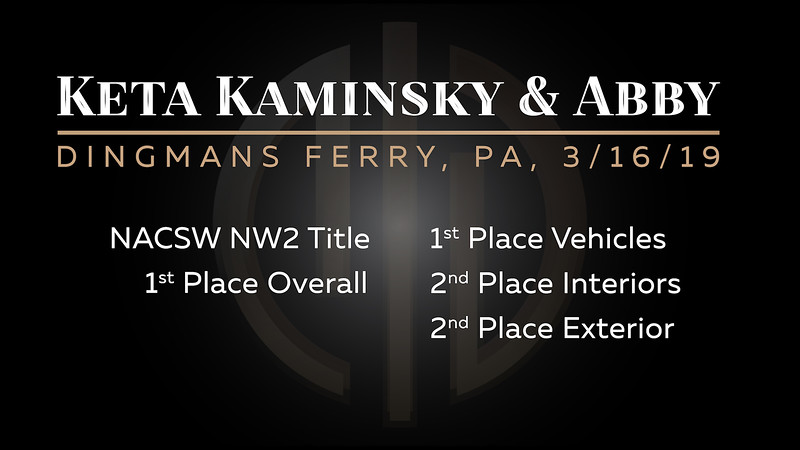 All Standard Videos for the March 16th Trial for Keta Kaminsky and Abby, combined into 1 Video